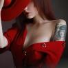 Anton Montbrillant -Lady in red (2)